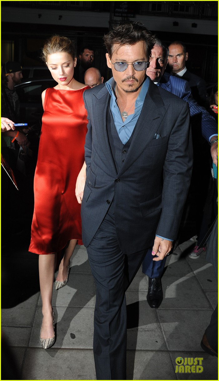 johnny depp amber heard cipriani dinner date 012914089