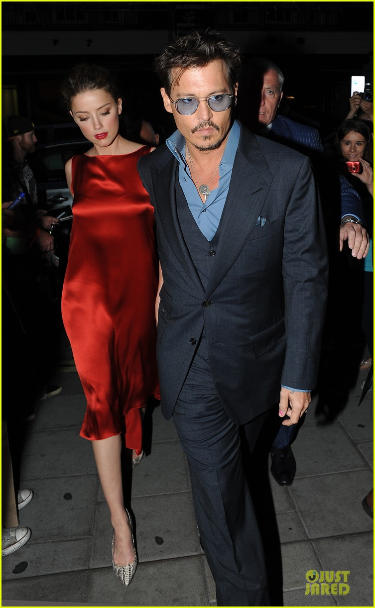 johnny depp amber heard cipriani dinner date 032914091