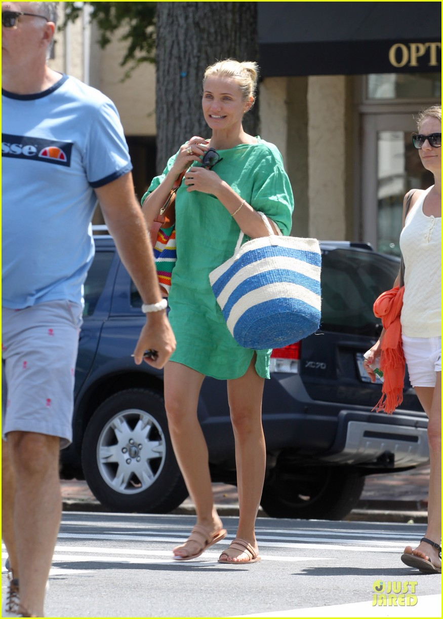 cameron diaz hamptons natural beauty queen 012906218