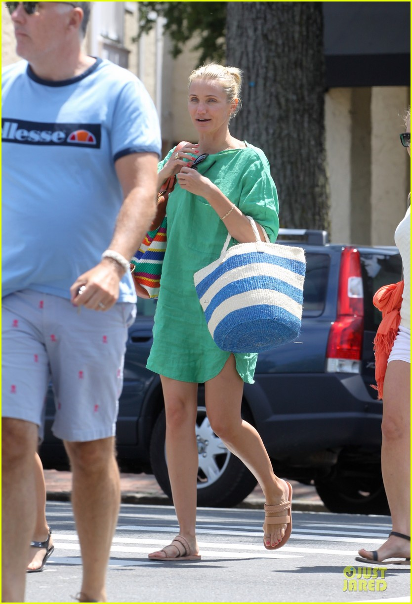 cameron diaz hamptons natural beauty queen 032906220