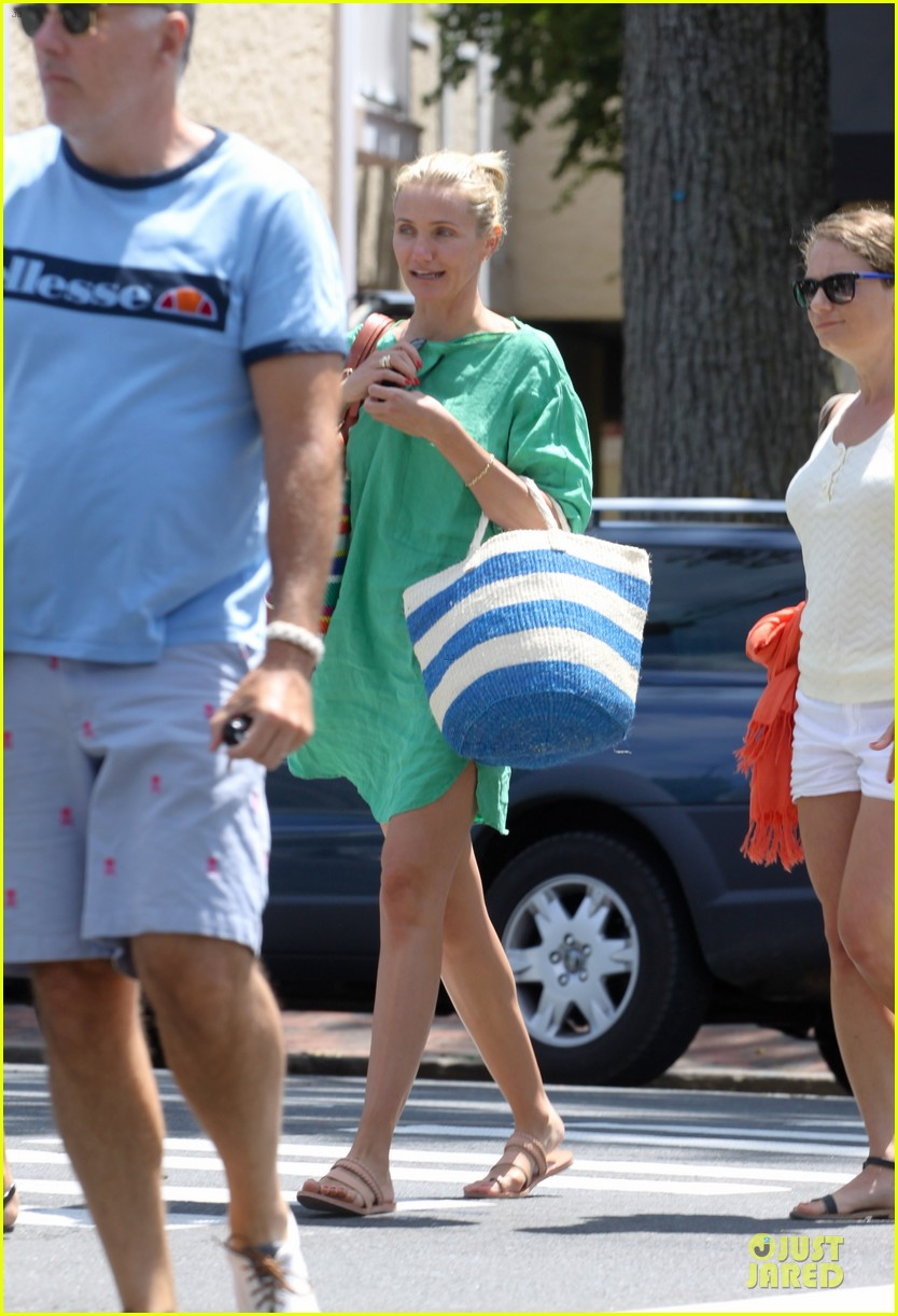 cameron diaz hamptons natural beauty queen 05
