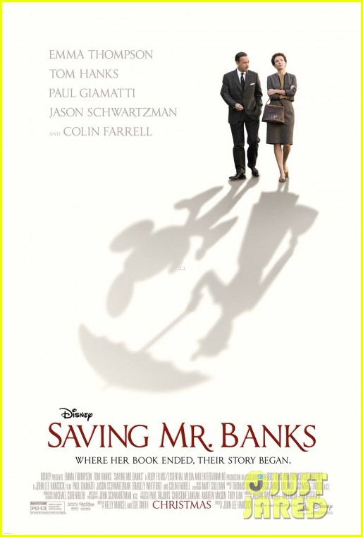 colin farrell first saving mr banks poster revealed 032918982