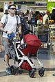 megan fox brian austin green noah family flight out of lax 01