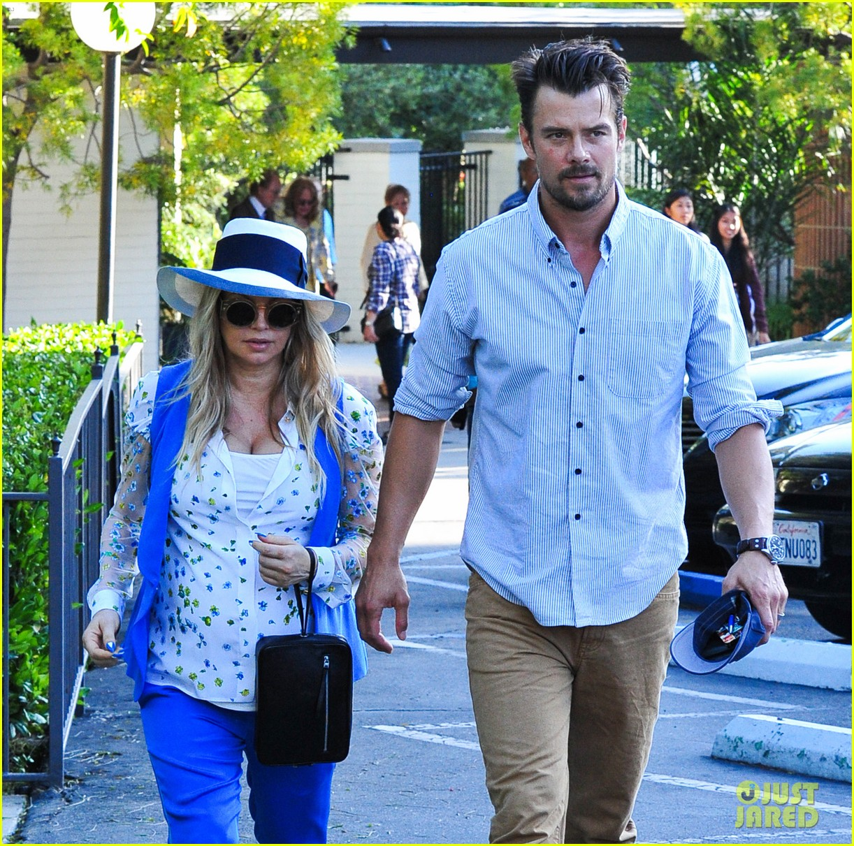 fergie josh duhamel go to church before baby shower day 072919781