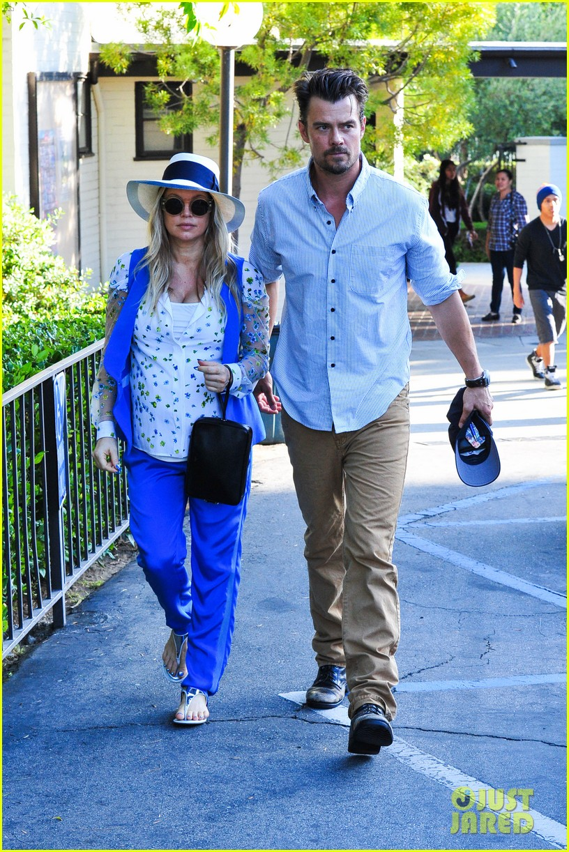 fergie josh duhamel go to church before baby shower day 092919783