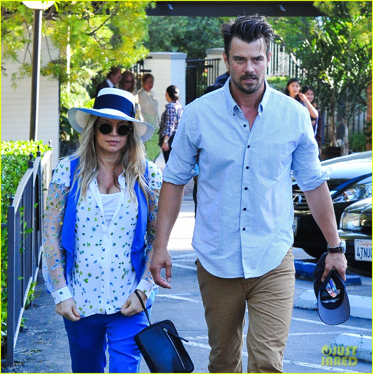fergie josh duhamel go to church before baby shower day 132919787