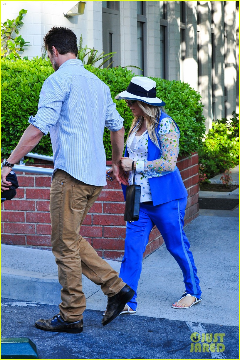 fergie josh duhamel go to church before baby shower day 162919790