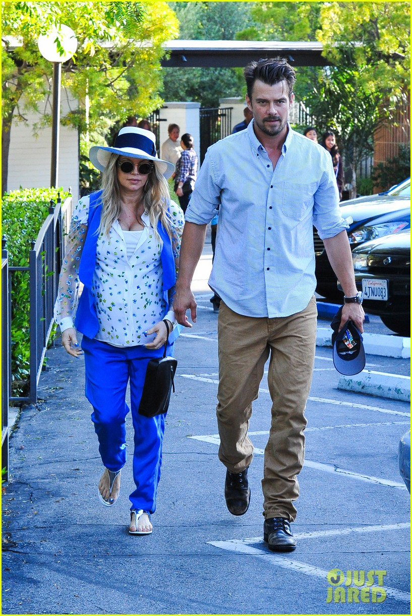 fergie josh duhamel go to church before baby shower day 202919794