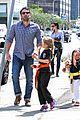 jennifer garner ben affleck take the girls to karate 09