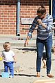 jennifer garner kids park date after jimmy kimmel wedding 13