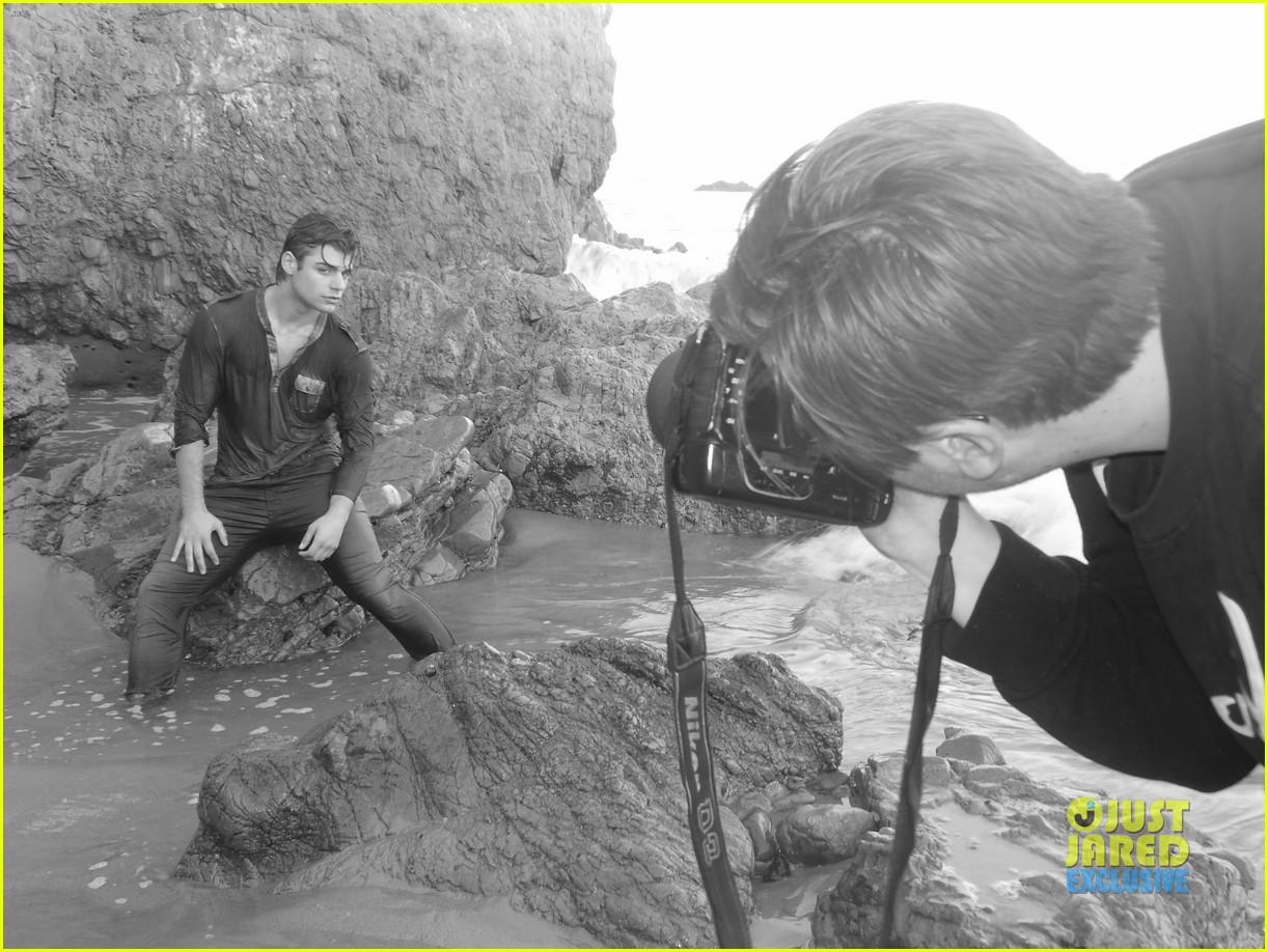 garrett clayton jj spotlight behind the scenes 022915193