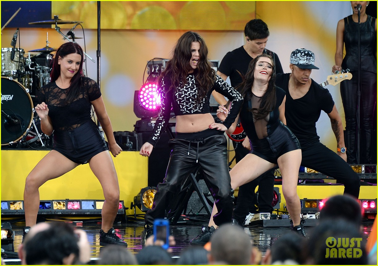 selena gomez good morning america concert 012917360
