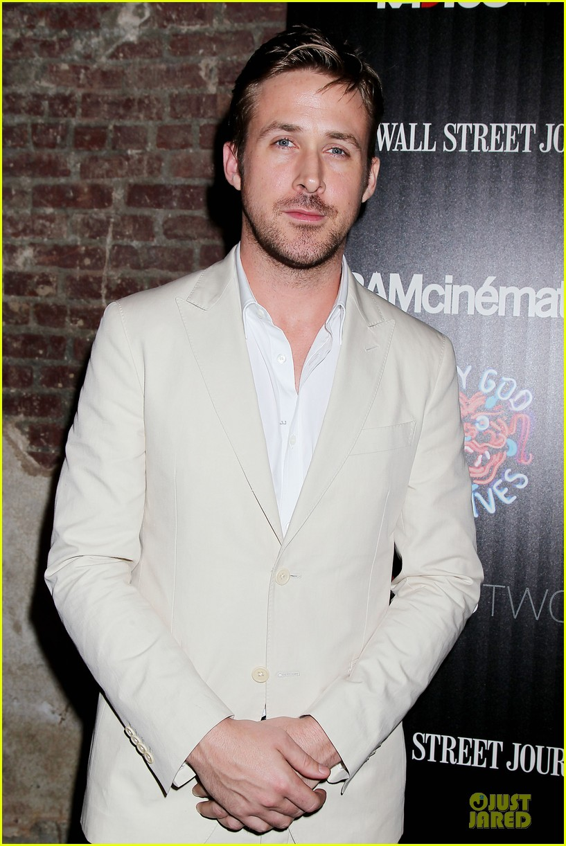 ryan gosling only god forgives nyc screening 102910579
