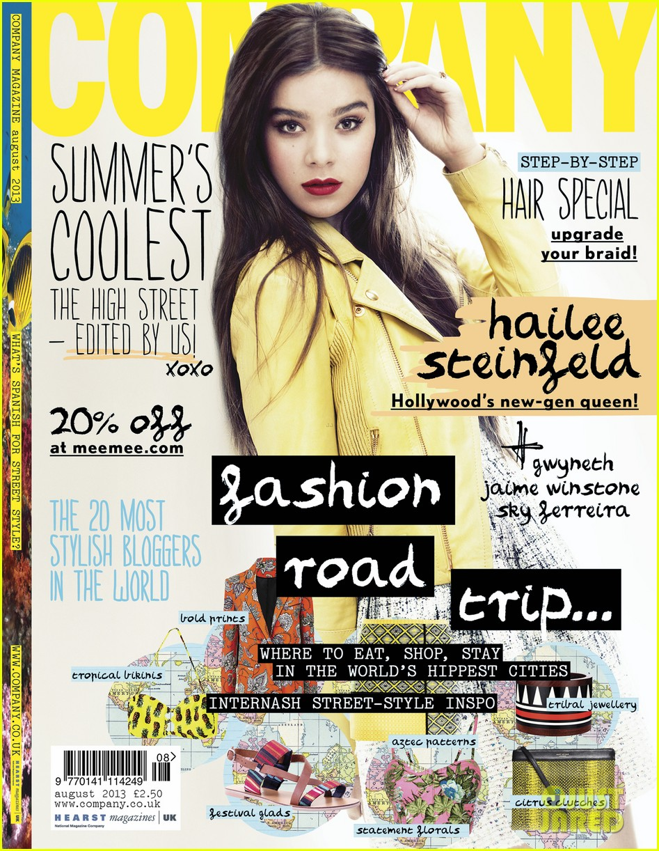 hailee steinfeld covers company august 2013 012904378