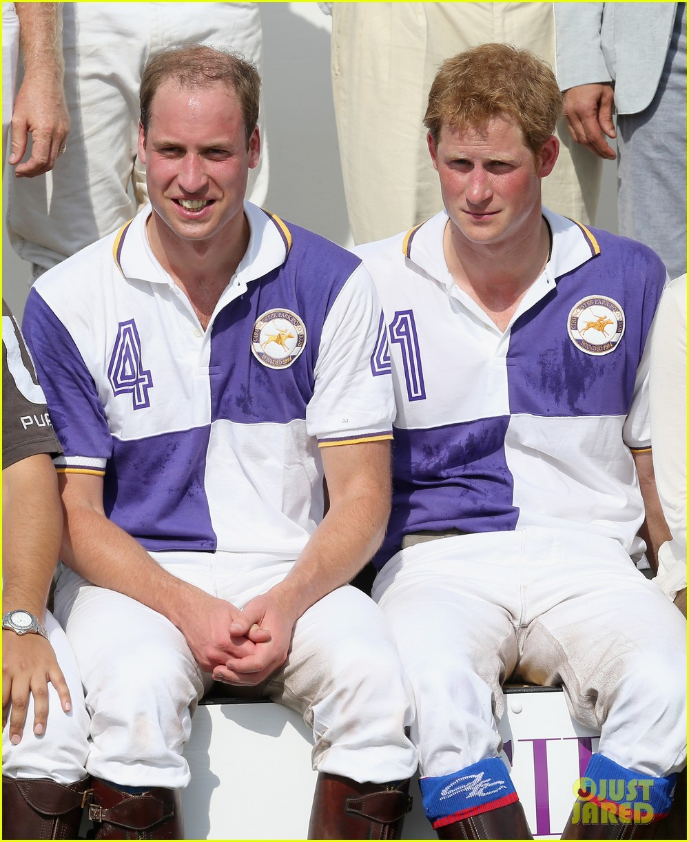 prince william harry jerudong trophy charity polo match 022909248