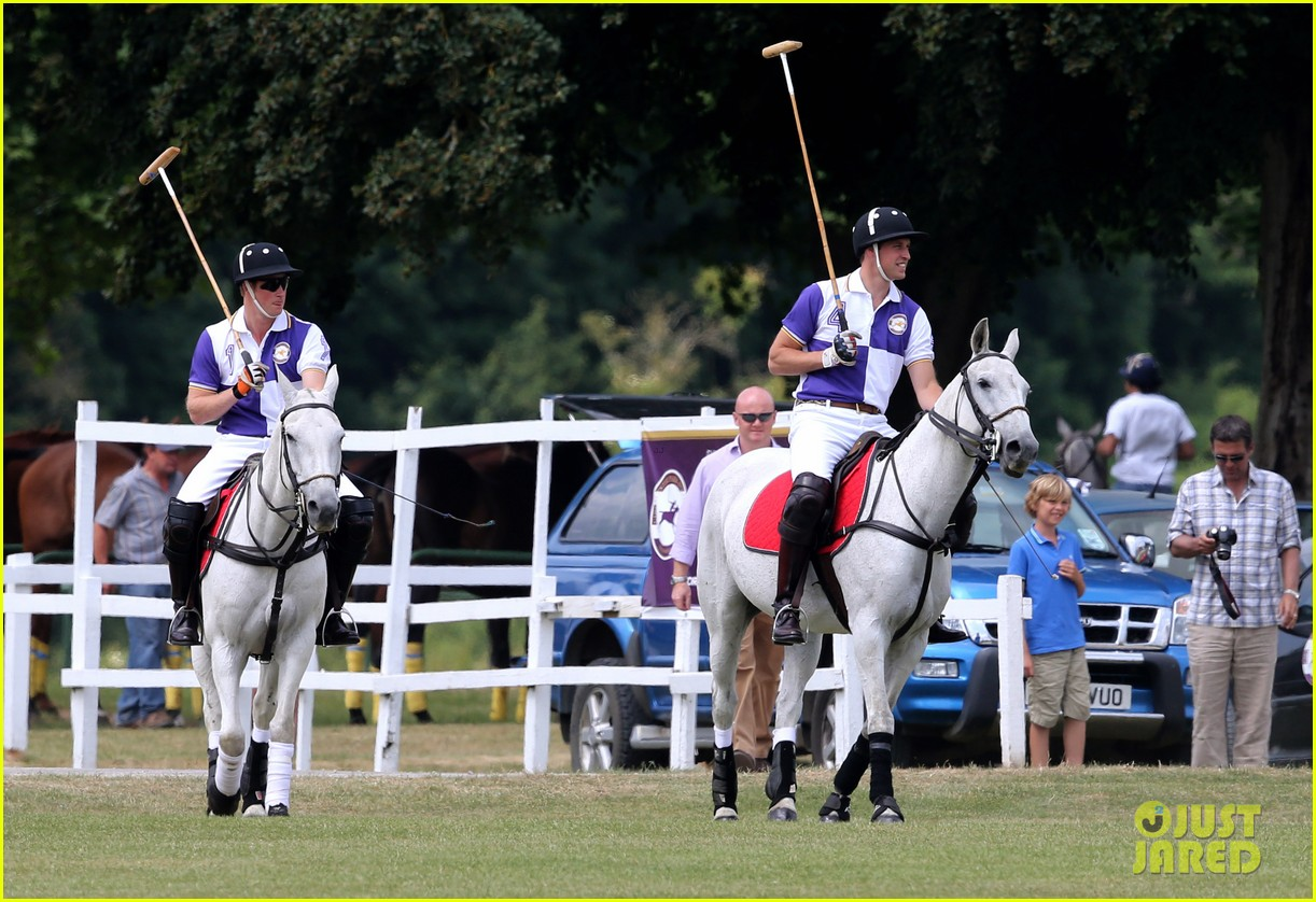 prince william harry jerudong trophy charity polo match 062909252