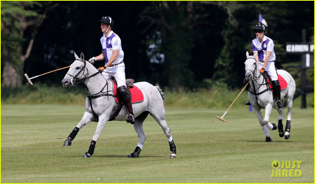prince william harry jerudong trophy charity polo match 082909254