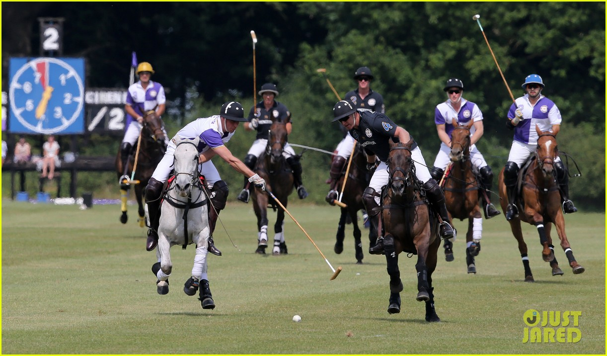 prince william harry jerudong trophy charity polo match 092909255