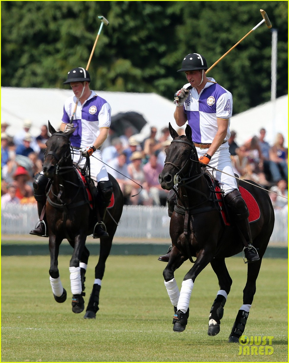 prince william harry jerudong trophy charity polo match 102909256