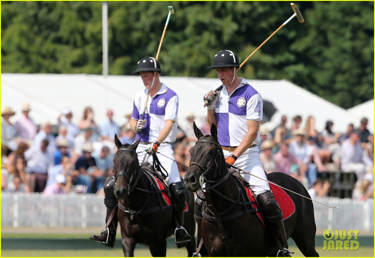 prince william harry jerudong trophy charity polo match 112909257