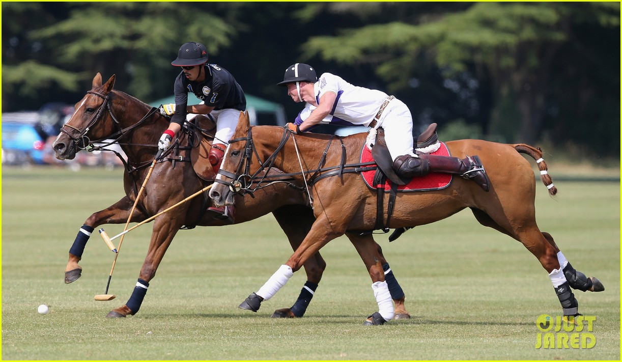 prince william harry jerudong trophy charity polo match 17