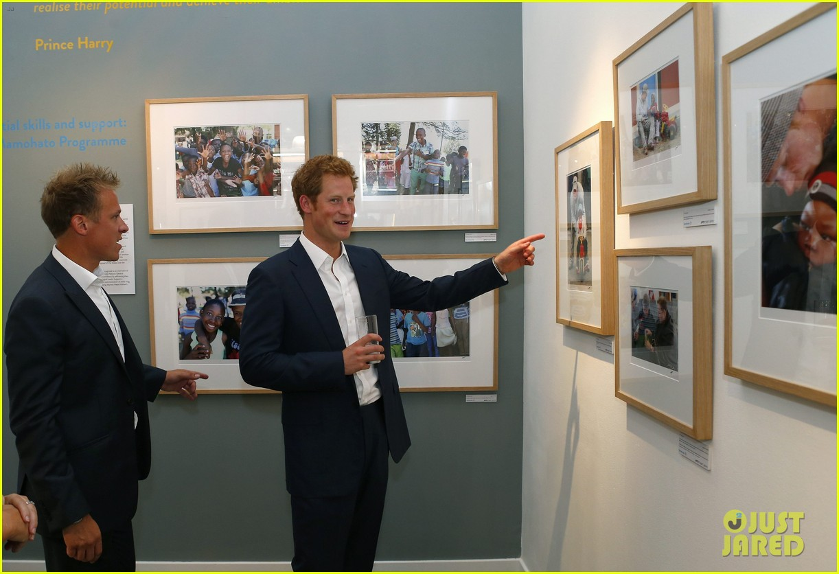 prince harry talks prince george his royal baby nephew 072916902