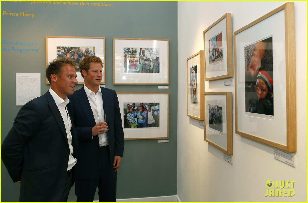 prince harry talks prince george his royal baby nephew 092916904