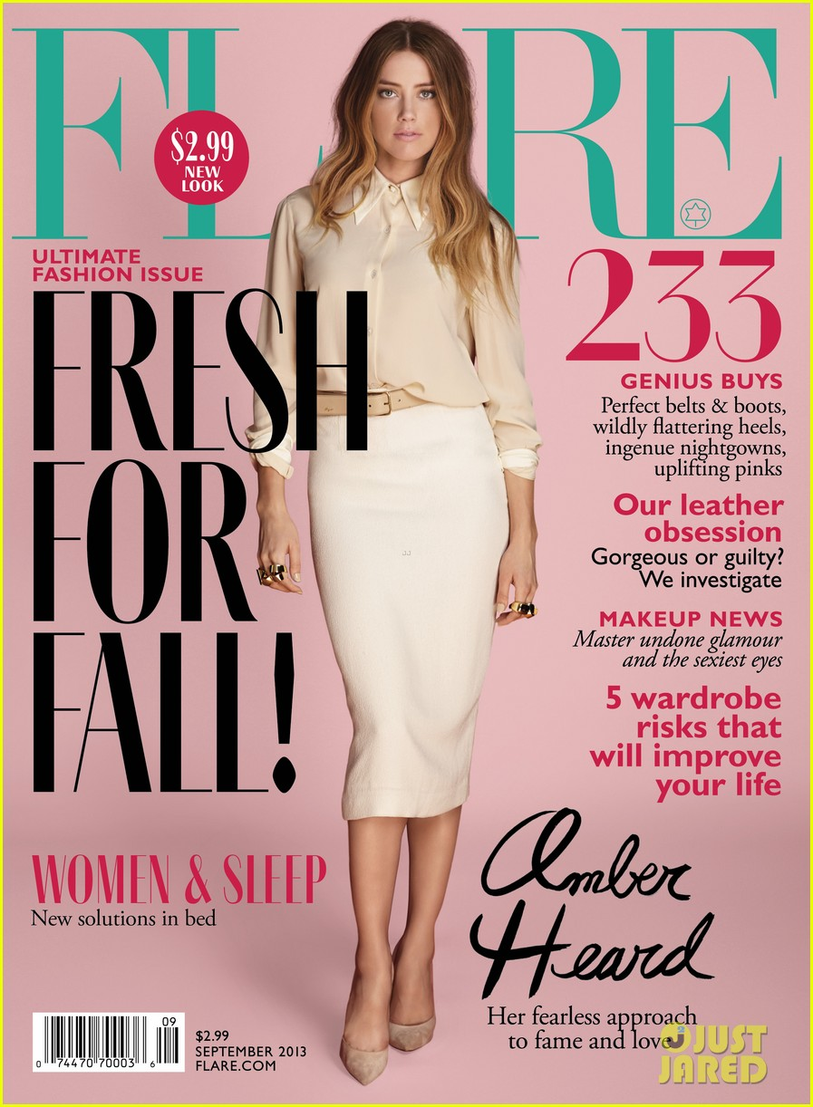 amber heard covers flare september 2013 012920947