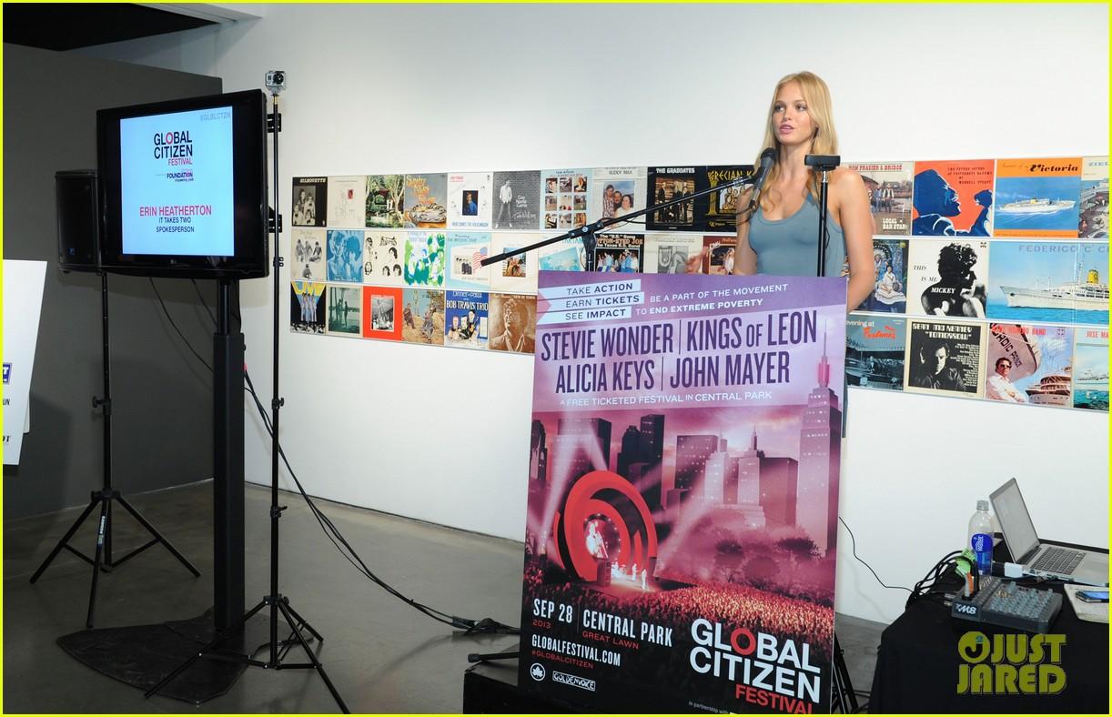 erin heatherton global citizen festival press conference 2013 052908295