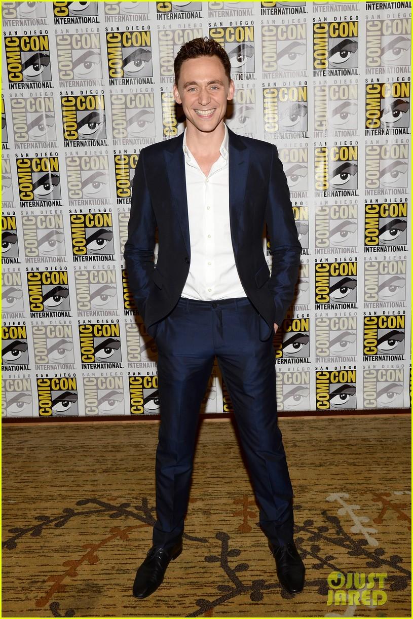 tom hiddleston attends thor comic con panel as loki 052913452