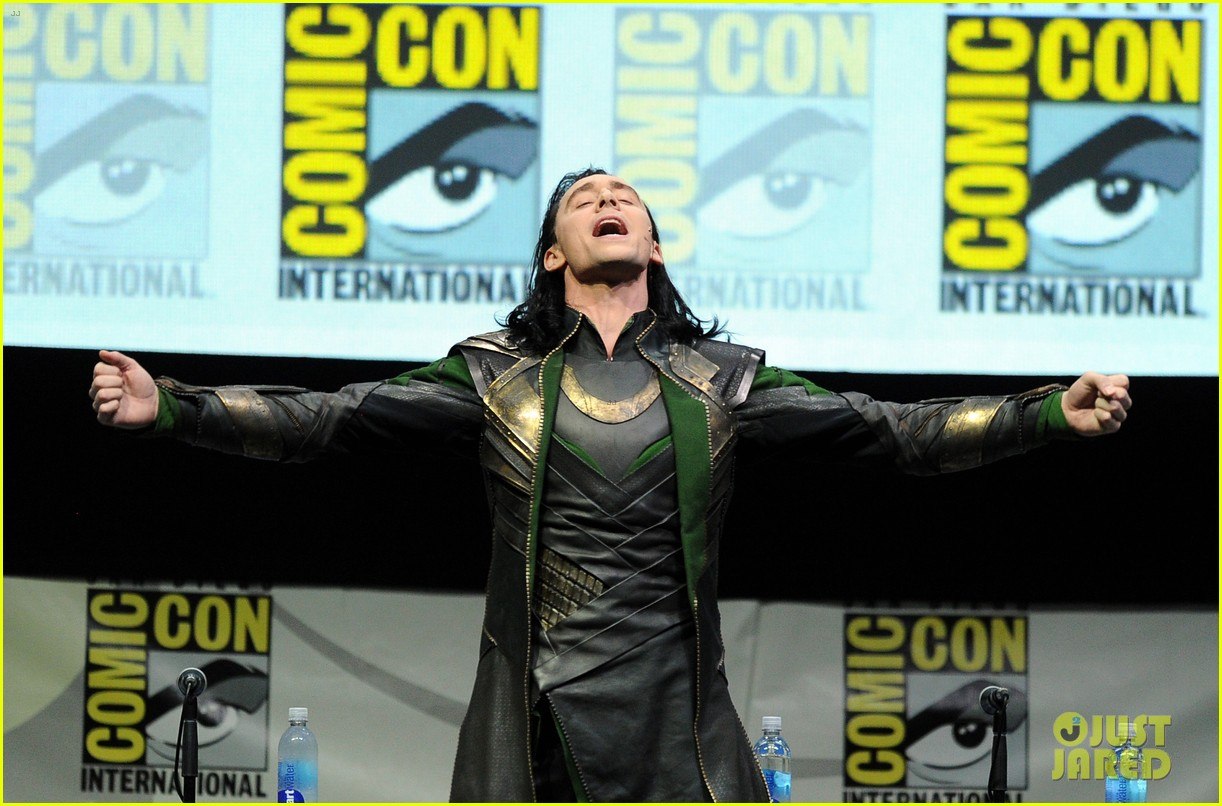 tom hiddleston attends thor comic con panel as loki 072913454