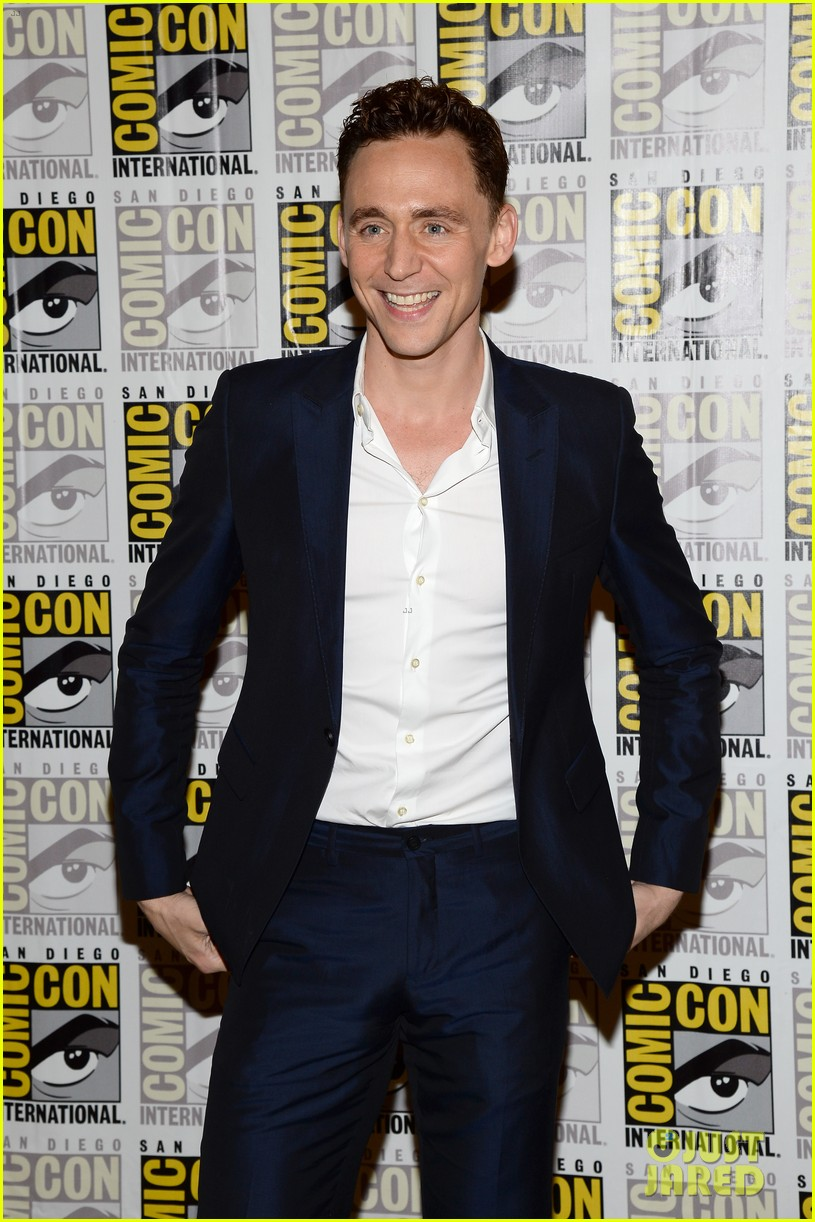 tom hiddleston attends thor comic con panel as loki 122913459