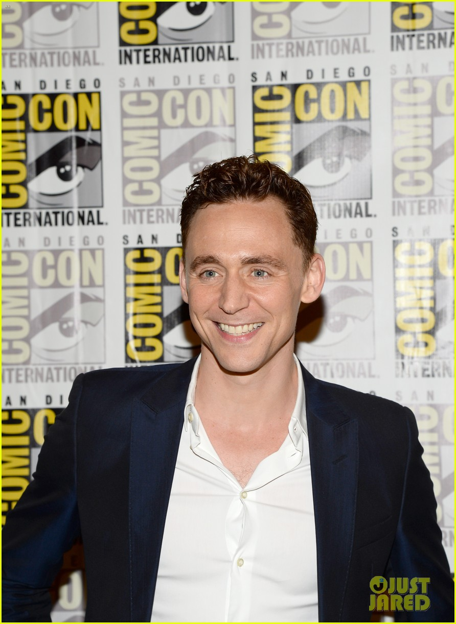 tom hiddleston attends thor comic con panel as loki 132913460
