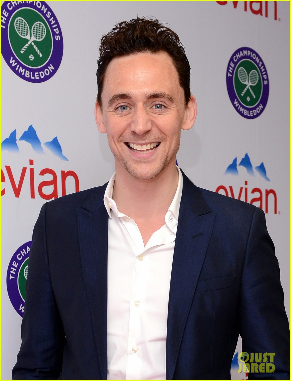 Tom Hiddleston: Wimbledon Finals with Jane Arthy!: Photo ...