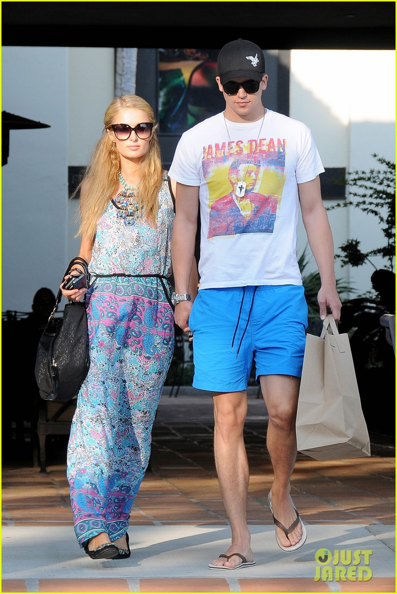 paris hilton malibu bikini babe after lunch with river viiperi 032905909