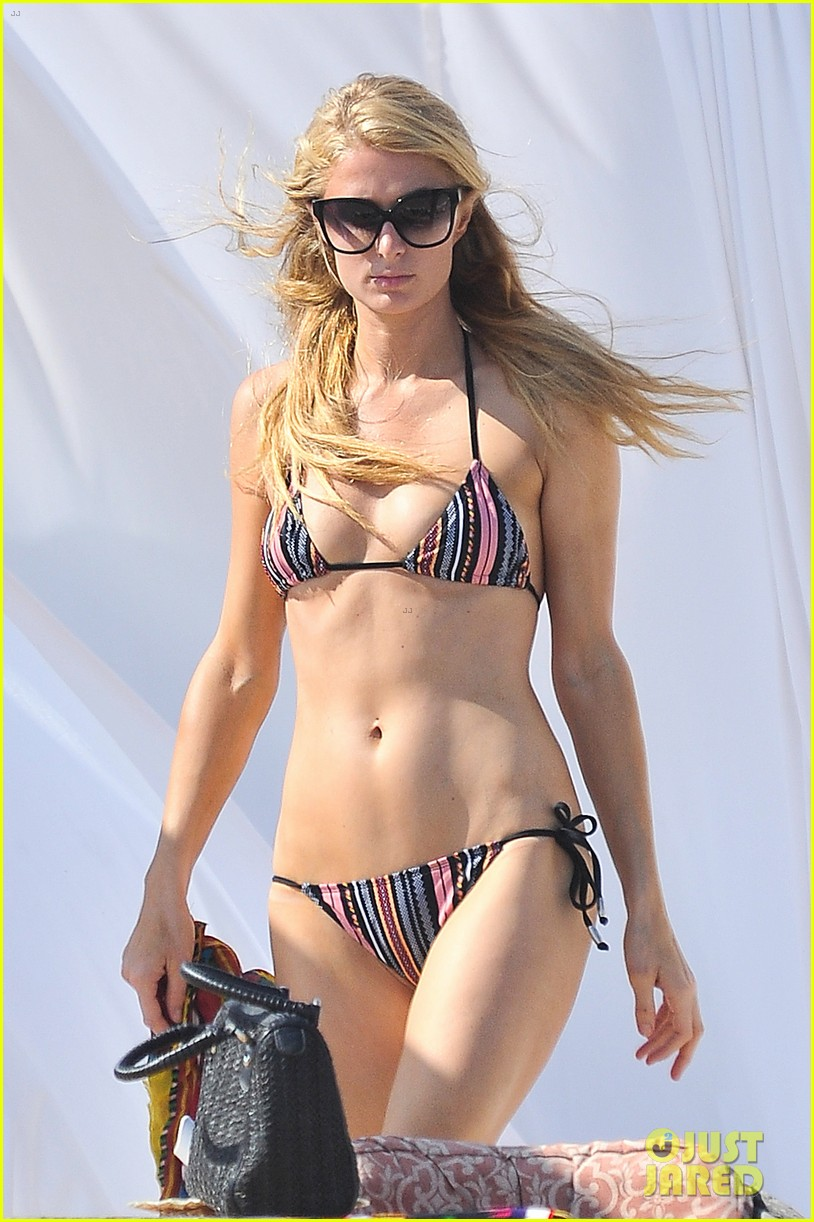 paris hilton malibu bikini babe after lunch with river viiperi 042905910