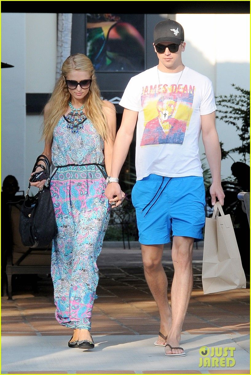 paris hilton malibu bikini babe after lunch with river viiperi 092905915