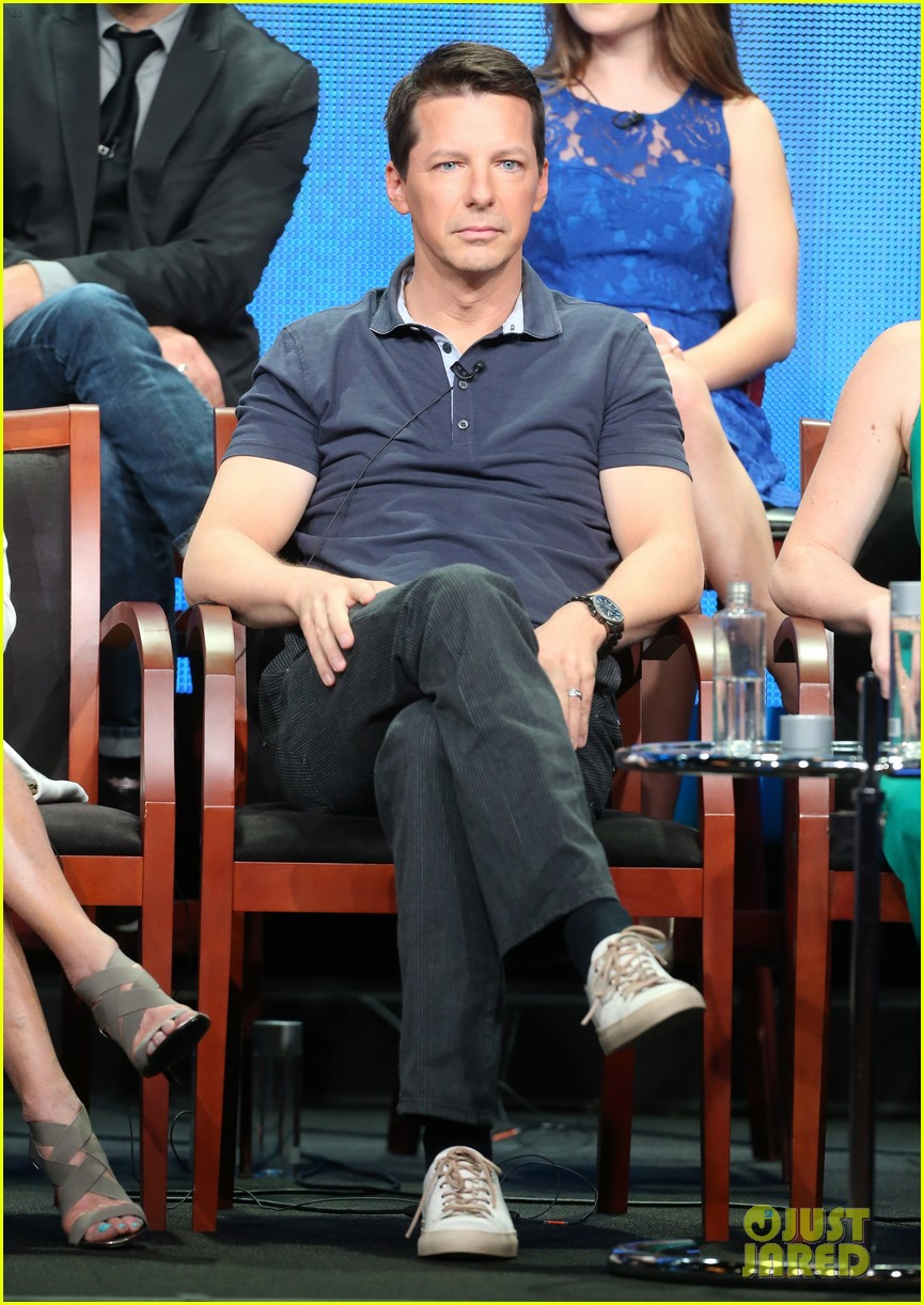 megan hilty sean hayes nbc summer tca panel 262918381