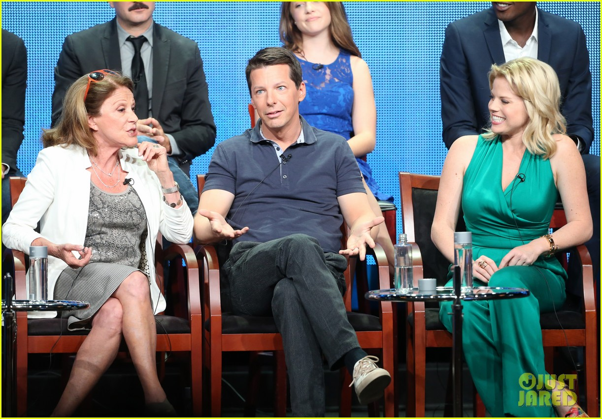 megan hilty sean hayes nbc summer tca panel 282918383