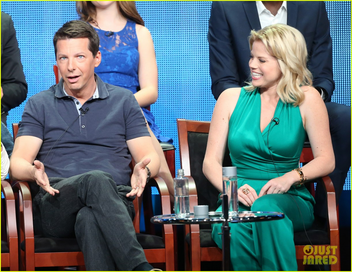 megan hilty sean hayes nbc summer tca panel 302918385