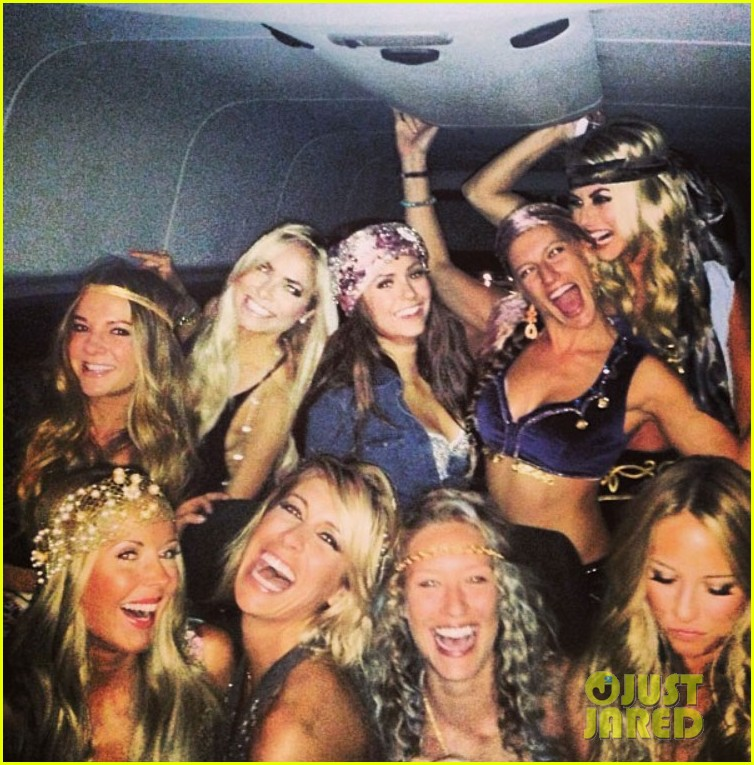 julianne hough nina dobrev party bus for selena gomez birthday 012918911