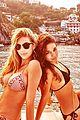 vanessa hudgens bikini bonding with camila morrone 05