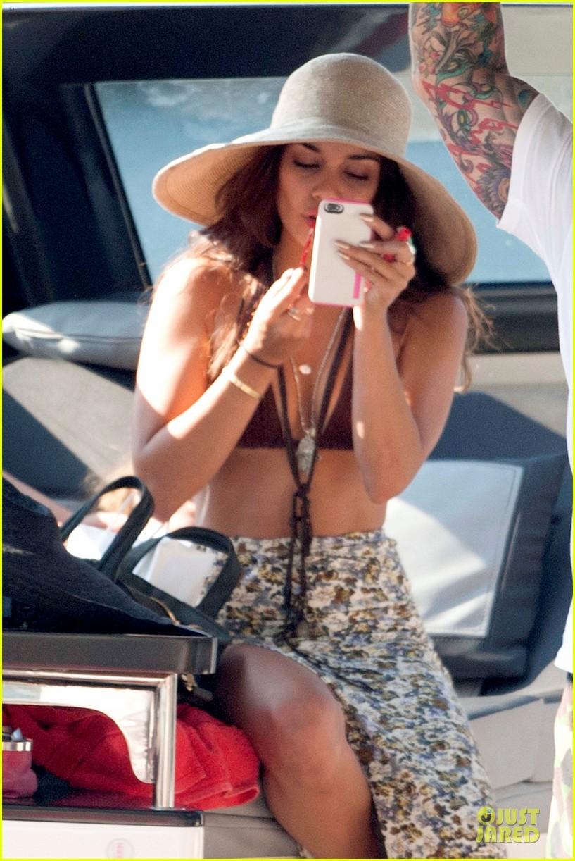 vanessa hudgens bikini bonding with camila morrone 082912847