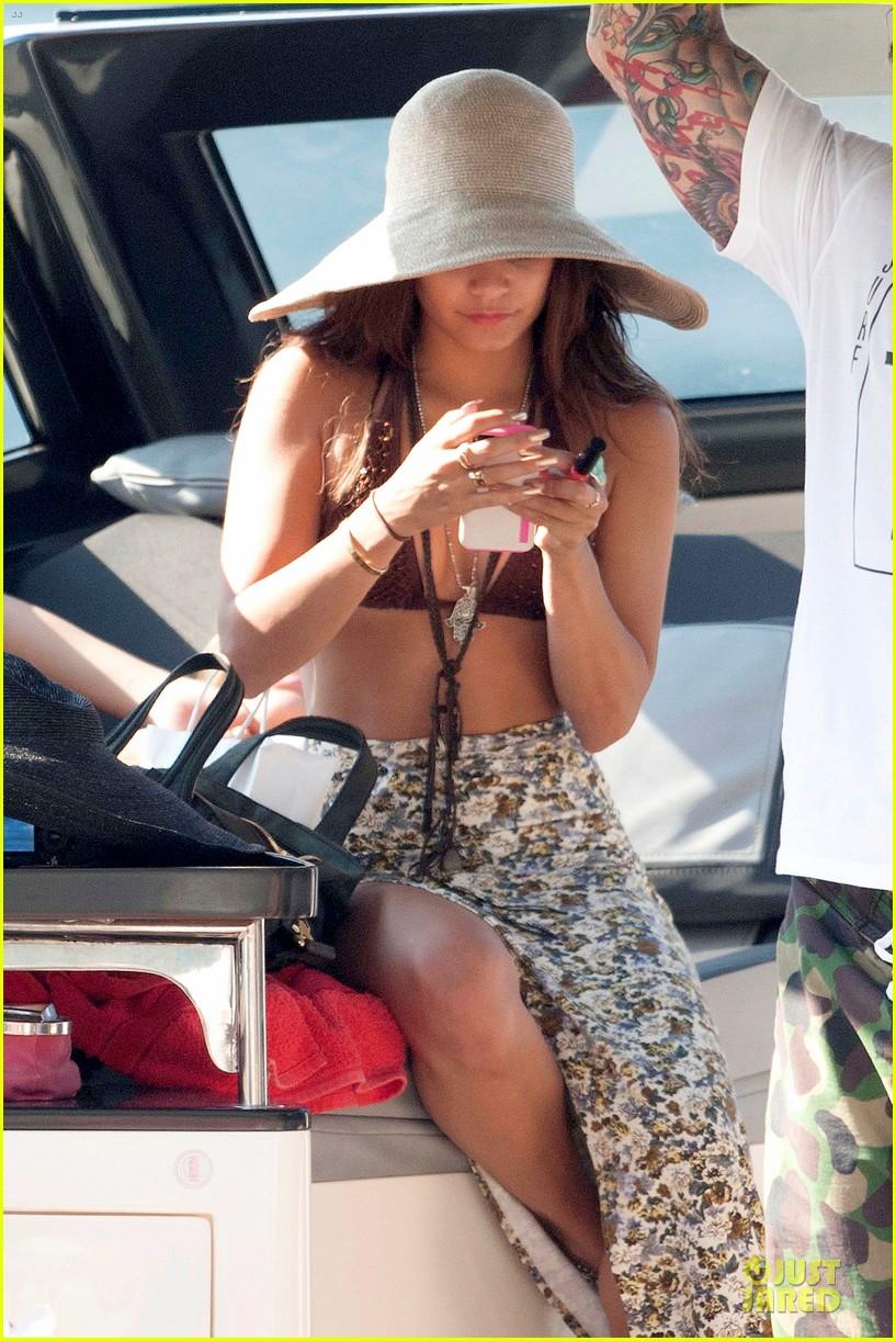 vanessa hudgens bikini bonding with camila morrone 112912850