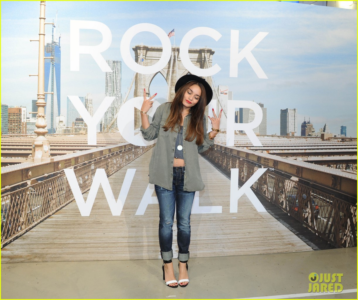 vanessa hudgens ae rock your walk launch austin butler 132920890