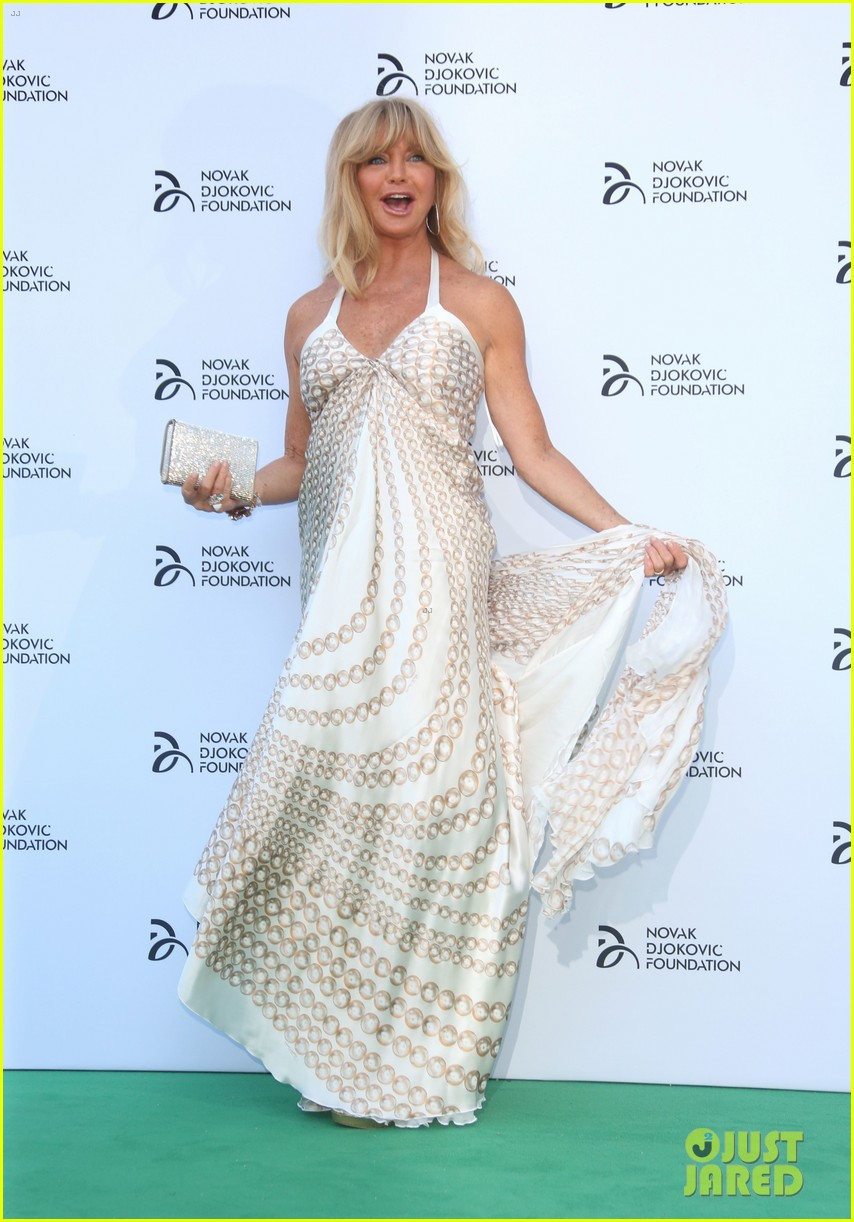 kate hudson novak djokovic foundation london gala 13