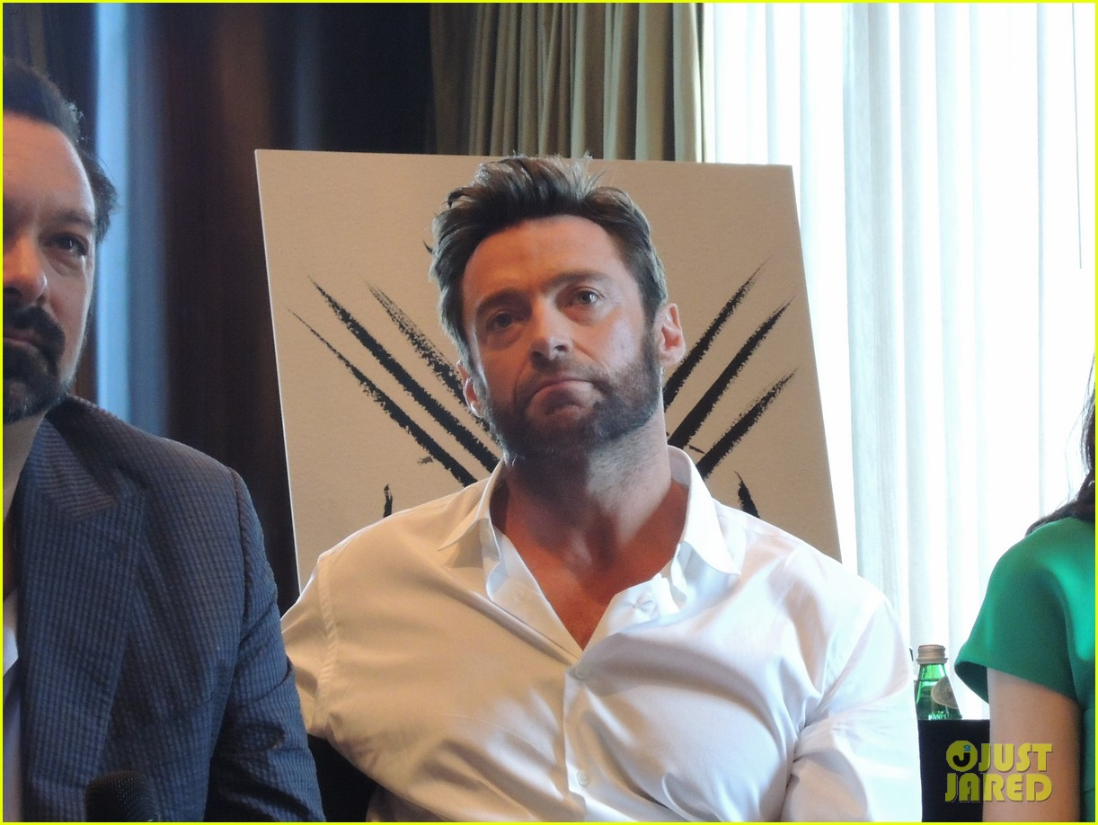 hugh jackman the wolverine press conference in nyc 022908813