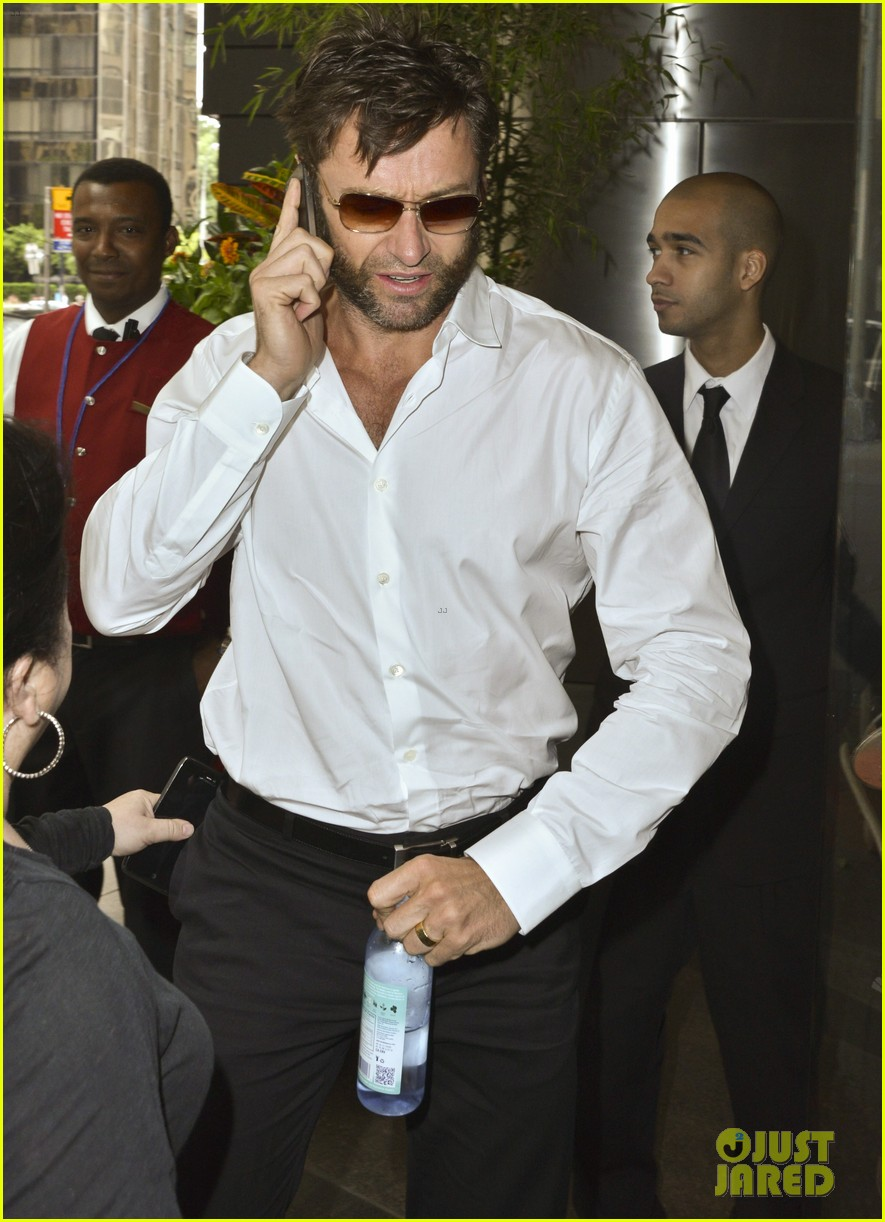 hugh jackman the wolverine press conference in nyc 072908818