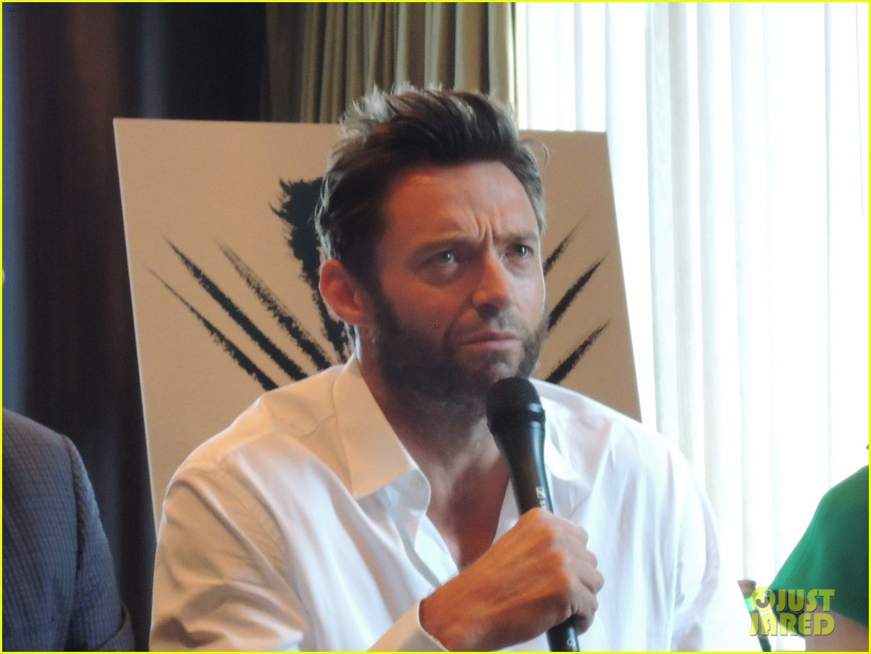hugh jackman the wolverine press conference in nyc 11