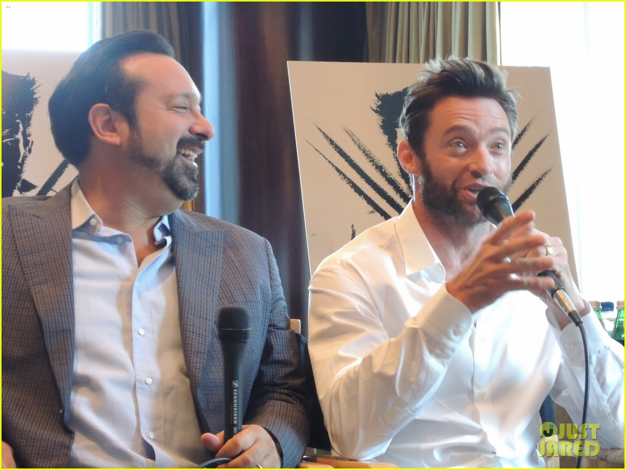 hugh jackman the wolverine press conference in nyc 122908823